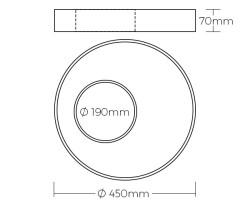aperture dimensions