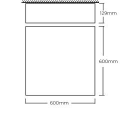 box 600 dimensions